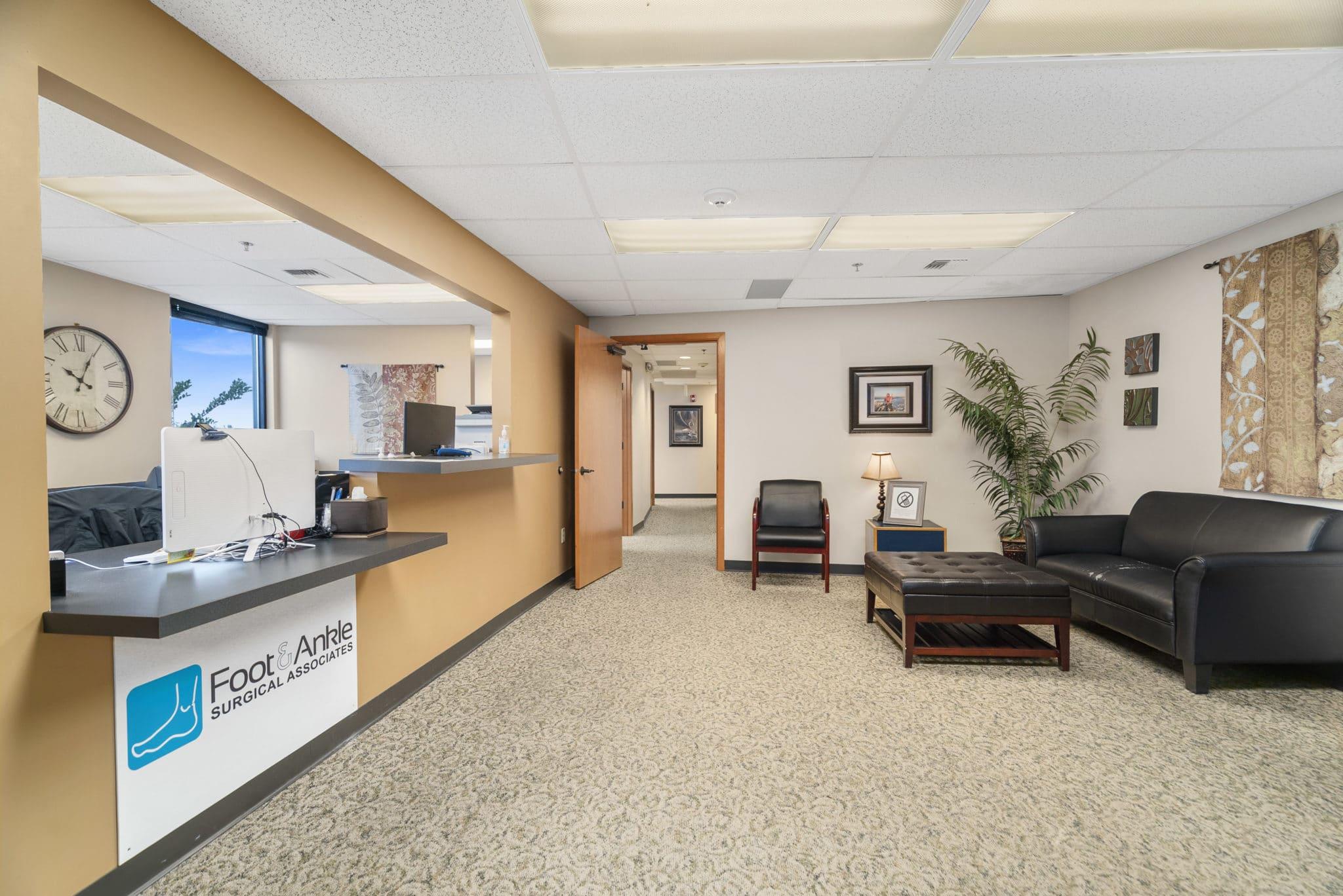 FASA Tacoma waiting room in front