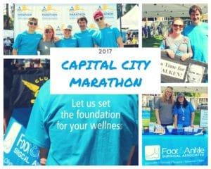 FASA capital city marathon booth 2017