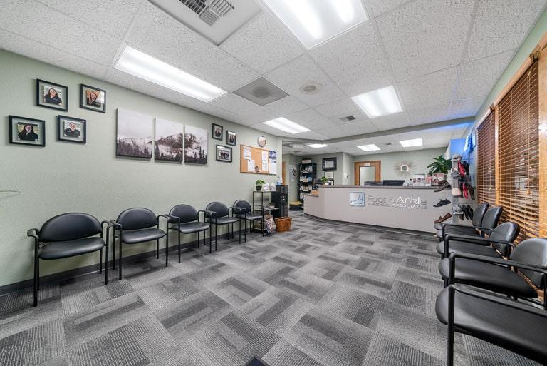 FASA Olympia Waiting area