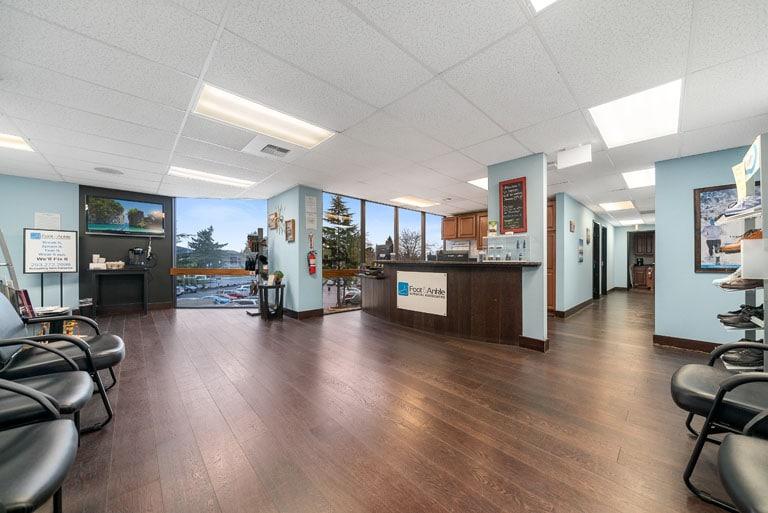 FASA Tacoma Waiting Area and desk