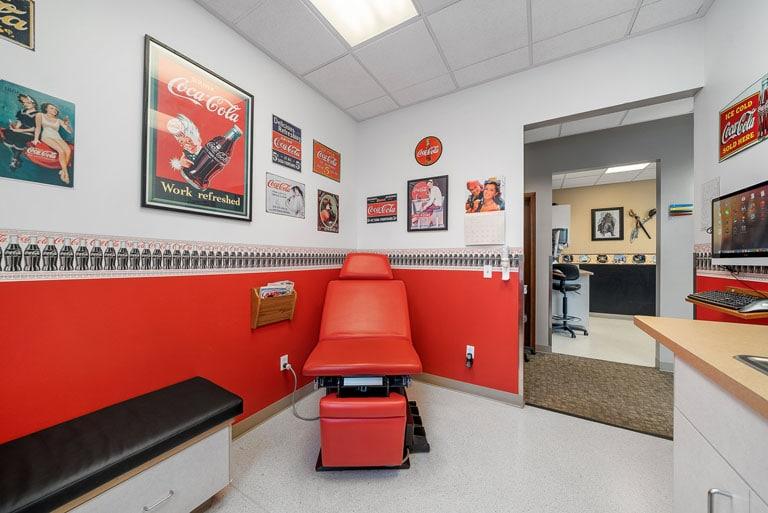 FASA Yelm Coca-cola room