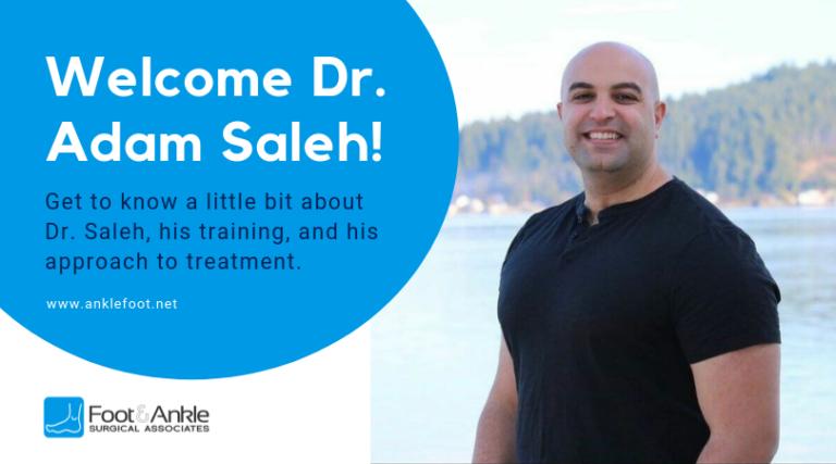 Meet Dr. Saleh (and Heel Pain FAQ)!